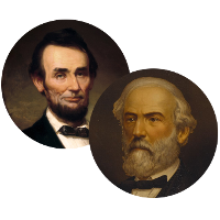 abraham lincoln and robert e lee saving union Civil war timeline (leslie's illustrated history of the civil war) november 6, 1860-abraham lincoln is elected sixteenth president of the united states,  the bloodiest battle of the civil war dashes robert e lee's hopes for a successful invasion of the north.