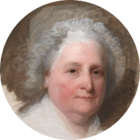 Martha (Dandridge) Washington