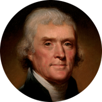 Image result for pic of thomas jefferson